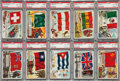 "Non-Sport Cards:Sets, 1956 Topps ""Flags of The World"" Complete Set (80) - #8 on the PSARegistry. ..."