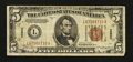 Small Size:World War II Emergency Notes, Fr. 2302 $5 1934A Hawaii Federal Reserve Note. Fine.. ...
