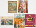 Football Collectibles:Publications, 1918-67 Rose Bowl Publications Lot of 5....