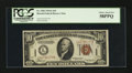 Small Size:World War II Emergency Notes, Fr. 2303 $10 1934A Hawaii Federal Reserve Note. PCGS Choice About New 58PPQ.. ...
