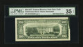 Error Notes:Ink Smears, Fr. 2072-B $20 1977 Federal Reserve Note. PMG Choice Very Fine 35EPQ.. ...