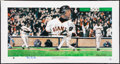 Autographs:Bats, Barry Bonds Signed Lithograph....