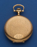 Timepieces:Pocket (post 1900), Waltham 16 Size 19 Jewel Riverside Heavy 14k Hunter's Case PocketWatch. ...