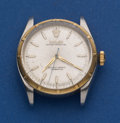 Timepieces:Wristwatch, Rolex Gold Bezel Stainless Steel Oyster Perpetual For RestorationReference 6285. ...