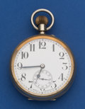 Timepieces:Pocket (post 1900), Swiss Over Sized 65 mm Pocket Watch. ...