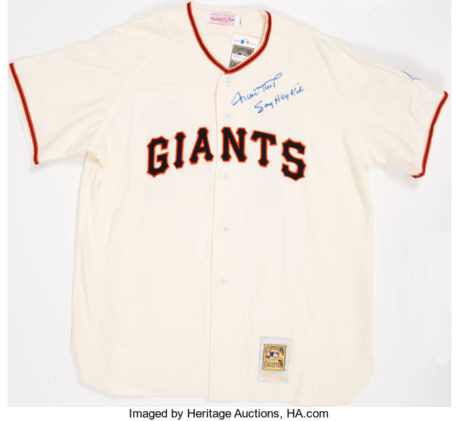 292ff138 Baseball Collectibles:Uniforms, Willie Mays