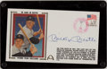 Baseball Collectibles:Others, Mickey Mantle Signed First Day Cover....