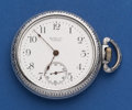Timepieces:Pocket (post 1900), Ball 17 Jewel 16 Size Commercial Standard Pocket Watch. ...