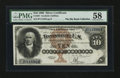 Large Size:Silver Certificates, Fr. 289 $10 1880 Silver Certificate PMG Choice About Uncirculated58.. ...