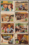 """Movie Posters:Western, Branded (Columbia, 1931). Lobby Card Set of 8 (11"""" X 14""""). Western.. ... (Total: 8 Items)"""