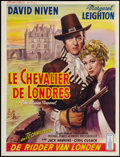 "Movie Posters:Adventure, The Elusive Pimpernel (British Lion, 1950). Belgian (14.25"" X18.5""). Adventure.. ..."