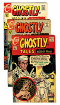 Bronze Age (1970-1979):Horror, Ghostly Tales Group (Charlton, 1968-73) Condition: Average VF+....(Total: 15 Comic Books)