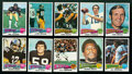 Football Cards:Sets, 1975 Topps Football Complete Set (528). ...