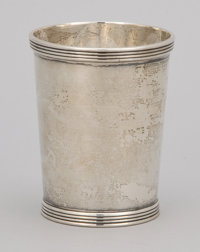 A SET OF SIX AMERICAN SILVER CUPS The Stieff Company, Baltimore, Maryland, circa 1950 Marks: STIEFF, STERL