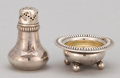 Silver Holloware, American:Open Salts, TEN PAIRS OF AMERICAN SILVER AND SILVER GILT OPEN SALTS AND PEPPERSHAKERS . Gorham Manufacturing Co., Providence, Rhode Isl...(Total: 20 Items)