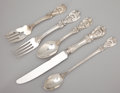 Silver Flatware, American:Reed & Barton, A FIFTY-SIX PIECE AMERICAN SILVER FLATWARE SERVICE . Reed &Barton, Taunton, Massachusetts, circa 1907. Marks: Reed &Bart... (Total: 56 Items)