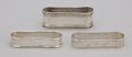 Silver Holloware, American:Napkin Rings, A GROUP OF SEVEN SILVER NAPKIN RINGS . Gorham Manufacturing Co. orWebster or unknown, circa 1900. Marks: GORHAM, STERLING...(Total: 7 Items)