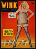 "Movie Posters:Sexploitation, Wink Magazine (Wink Inc., June, 1952). Magazine (50 Pages, 8.5"" X11.5""). Sexploitation.. ..."