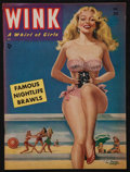 "Movie Posters:Sexploitation, Wink Magazine (Wink Inc., December, 1950). Magazine (50 Pages. 8.5""X 11.5""). Exploitation.. ..."