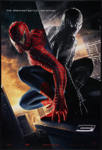 """Spider-Man 3 (Columbia, 2007). One Sheet (26.75"""" X 39.75""""). DS Advance. Action"""