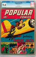 Golden Age (1938-1955):Cartoon Character, Popular Comics #71 (Dell, 1942) CGC NM 9.4 White pages....