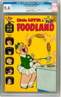 Silver Age (1956-1969):Humor, Little Lotta Foodland #3 File Copy (Harvey, 1964) CGC NM 9.4 Off-white to white pages....