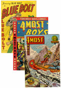 Golden Age (1938-1955):Miscellaneous, Comic Books - Assorted Golden Age Comics Group (Various, 1944-55). Condition: Average FN/VF except as noted.... (Total: 7 Comic Books)