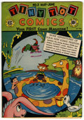 Golden Age (1938-1955):Funny Animal, Tiny Tot Comics #2 (EC, 1946) Condition: VF+....