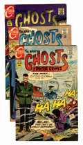 Silver Age (1956-1969):Horror, Many Ghosts of Dr. Graves Group (Charlton, 1968-73) Condition:Average VF.... (Total: 13 Comic Books)