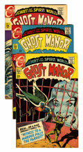 Silver Age (1956-1969):Horror, Ghost Manor Group (Charlton, 1968-72) Condition: Average VF/NM....(Total: 11 Comic Books)