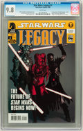 Modern Age (1980-Present):Science Fiction, Star Wars: Legacy #1 (Dark Horse, 2006) CGC NM/MT 9.8 Whitepages....