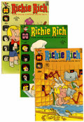 Bronze Age (1970-1979):Humor, Richie Rich Group (Harvey, 1972-74) Condition: Average VF/NM....(Total: 11 Comic Books)