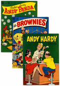 Golden Age (1938-1955):Miscellaneous, Four Color Group (Dell, 1952-53) Condition: Average VG/FN.... (Total: 18 Items)