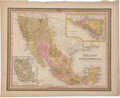 """Miscellaneous:Maps, S. Augustus Mitchell. Mexico & Guatemala. """"Publishedby S. Augustus Mitchell., N.E. Corner of Market & 7thStreets..."""