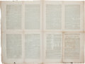 Miscellaneous:Newspaper, 1845 Printing of the Texas Constitution on pages 225-237 of the Democratic Expositor and United States Journal for the Cou...