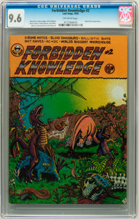 Forbidden Knowledge #2 (Last Gasp, 1978) CGC NM+ 9.6 Off-white pages