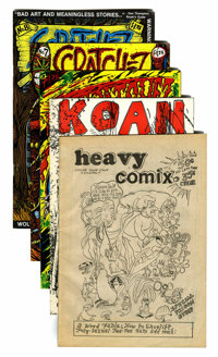 Underground Comix Silver to Modern Age Group (Various Publishers, 1969-85).... (Total: 5 Comic Books)