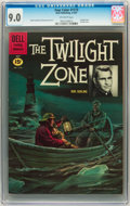 Silver Age (1956-1969):Adventure, Four Color #1173 Twilight Zone (Dell, 1961) CGC VF/NM 9.0 Off-white pages....