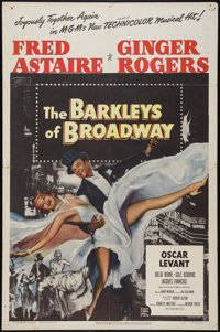"The Barkleys of Broadway (MGM, 1949). One Sheet (27"" X 41""). Musical"