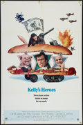 "Movie Posters:War, Kelly's Heroes (MGM, 1970). One Sheet (27"" X 41""). Style B. War....."