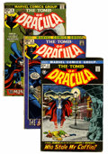 Bronze Age (1970-1979):Horror, Tomb of Dracula Group (Marvel, 1972-78) Condition: Average VG....(Total: 66 Comic Books)