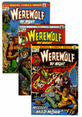 Bronze Age (1970-1979):Horror, Werewolf by Night Group (Marvel, 1973-77) Condition: Average VG....(Total: 83 Comic Books)