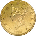 Liberty Eagles: , 1838 $10 AU50 NGC. With only 7,200 pieces produced and a fractionof those as survivors, this issue is elusive in all grade...