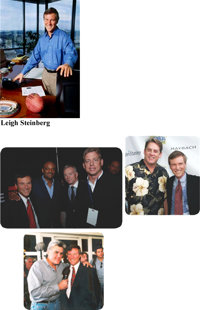 Four Tickets to the 25th Annual Leigh Steinberg Super Bowl Party - Family Day Event