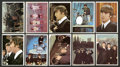 Non-Sport Cards:Sets, 1964 Topps The Beatles-Color Complete Set (64). ...