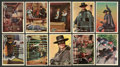 Non-Sport Cards:Sets, 1958 Topps Zorro Mid To High Complete Set (88). ...