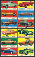 "Non-Sport Cards:Sets, 1961 Topps ""Sports Cars"" Mid To High Grade Complete Set (66). ..."