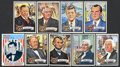 "Non-Sport Cards:Sets, 1972 Topps ""Presidents"" Complete Set (43). ..."