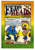 Silver Age (1956-1969):Alternative/Underground, Feds 'N Heads #1 First Printing Signed by Gilbert Shelton (ThePrint Mint, 1968) Condition: FN/VF....