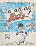 Baseball Collectibles:Publications, 1966 New York Mets Multi Signed Yearbook....